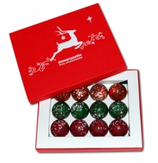 Festive Reindeer Caramels by Demarquette Luxury Chocolates